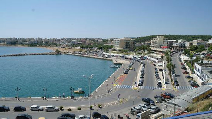 Rafina port in Athens, Greece